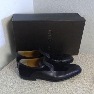 Gucci Shoes - Gucci Black Leather Wingtip Dress Shoes